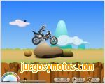 Juegos  motocross en la montaña